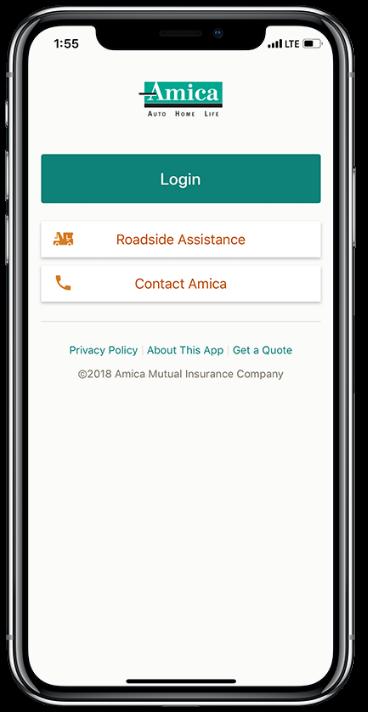 Amica Insurance Company >> Amica Mobile Amica