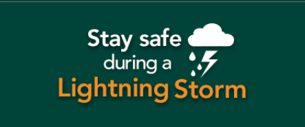Thunderstorm icon: Stay safe during a lightning storm PDF