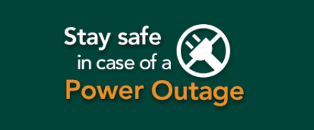 Power warning icon: Stay safe in case of a power outage PDF