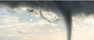 Tornado swirling in a blue sky: reducing tornado damage PDF