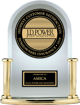 J.D. Power award: Highest in customer satisfaction among auto insurers in the New England region, six years in a row